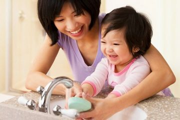 Bảo vệ sức khỏe cho bé từ các thói quen tốt