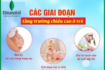 Giai đoạn vàng phát triển chiều cao cho bé mẹ cần biết!